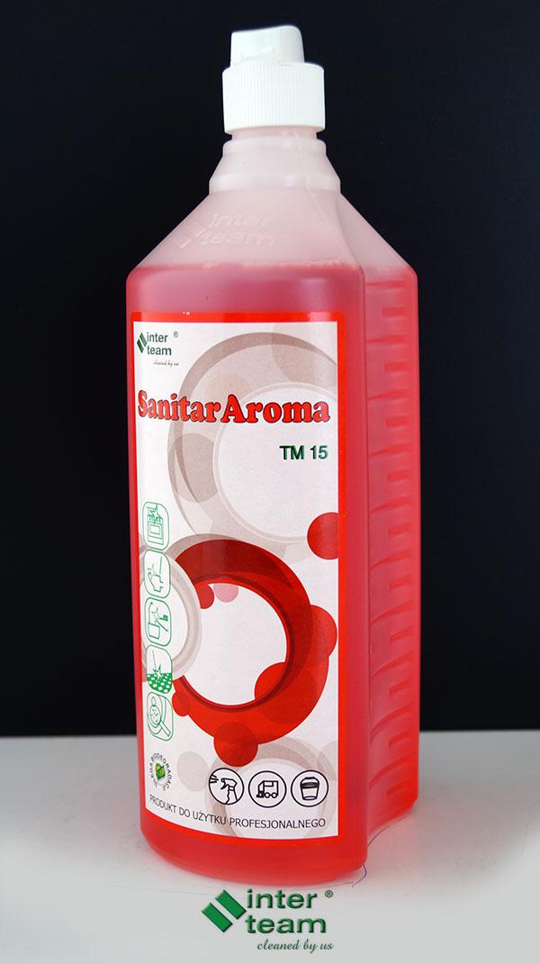SANITAR AROMA - żel czyszcząco odświeżający