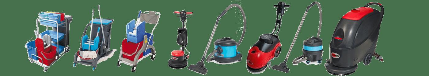 Odkurzacze, maszyny do sprzątania, wózki serwisowe - Gliwice
